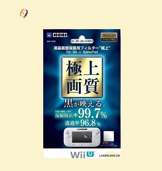 GamePad Screen Protector for W-i-i U