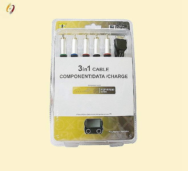 3in1 Component/Data/Charge Cable for P-S-P GO